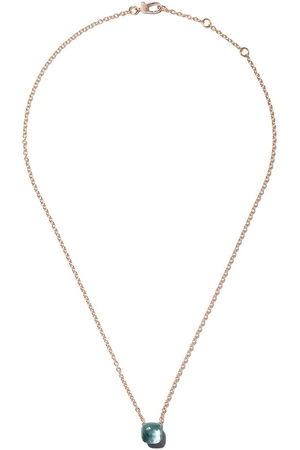 Pomellato 18kt rose & white gold Nudo light topaz pendant necklace