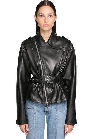 Maison Margiela Plongé Leather Biker Jacket