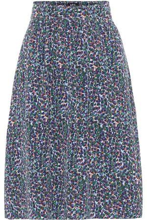 A.P.C Ravenna crêpe de chine skirt