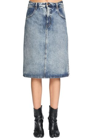 Maison Margiela Double Front Cotton Skirt