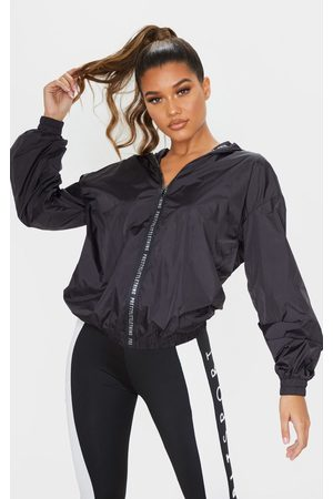 PRETTYLITTLETHING Sport Zip Up Windbreaker