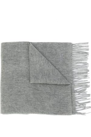 MULBERRY Women Scarves - Fringed edge scarf - Grey