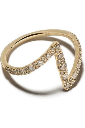 ASTLEY CLARKE Flash Interstellar' diamond ring - Metallic