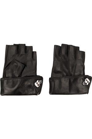 Karl Lagerfeld K/Ikonik pin cuff gloves