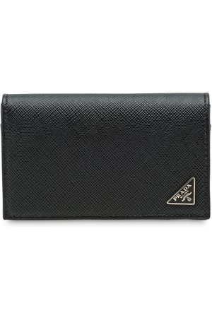 Prada Men Wallets - Saffiano leather card holder