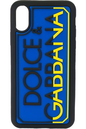 Dolce & Gabbana IPhone X-XS logo detail phone case