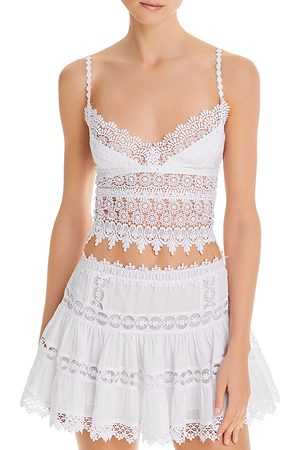 CHARO RUIZ IBIZA Women Crop Tops - Dana Crochet Crop Top