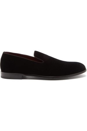 Dolce & Gabbana Men Loafers - Velvet Loafers - Mens