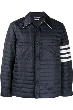 Thom Browne Fine Quilt Down Fill 4 Bar Shirt Jacket