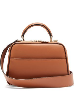 VALEXTRA Serie S Small Smooth-leather Bag - Womens - Tan