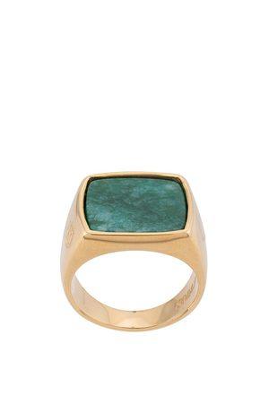 Nialaya Squared signet ring