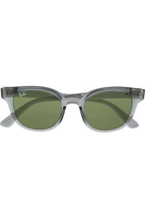 Ray-Ban Transparent round-frame sunglasses - Grey