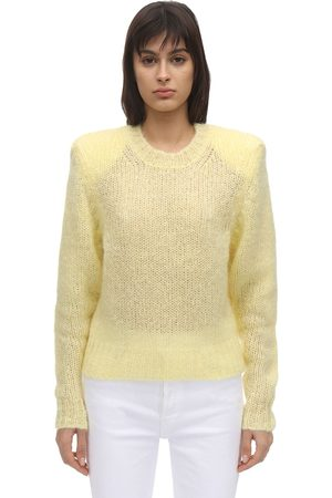 Isabel Marant Idona Mohair Blend Knit Sweater