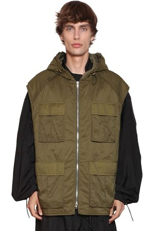 JUUN.J Nylon Raincoat & Hooded Vest