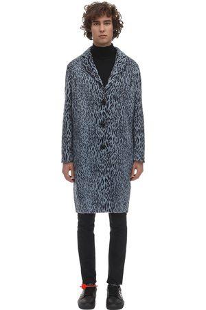Omc Leopard Print Faux Fur Coat