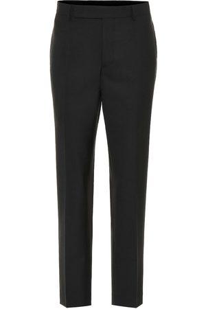 Rick Owens Wool-blend pants