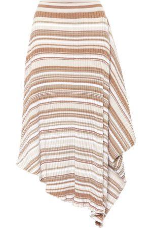 J.W.Anderson Striped wool skirt