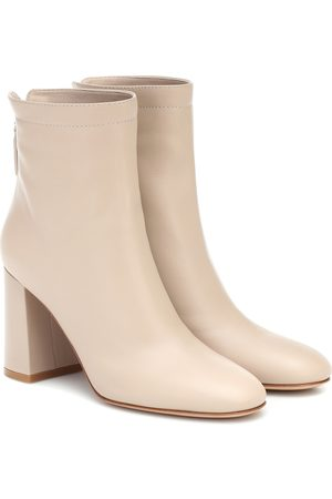 Gianvito Rossi Hyder leather ankle boots