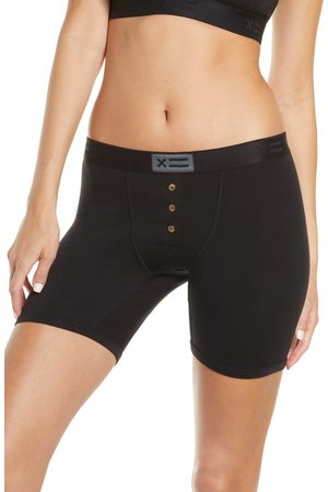 TOMBOYX Women's Button Fly Boxer Briefs