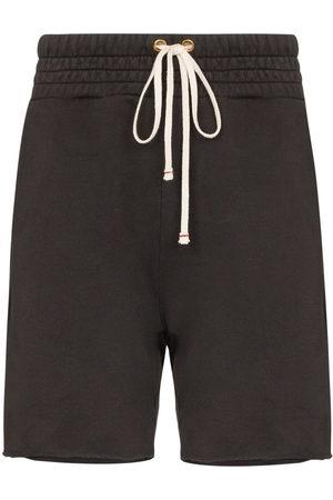 Les Tien Raw hem drawstring shorts - Grey