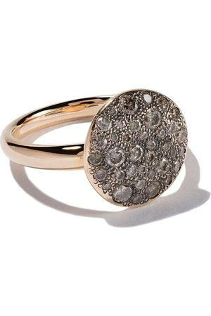 Pomellato Women Rings - 18kt rose gold Sabbia diamond ring