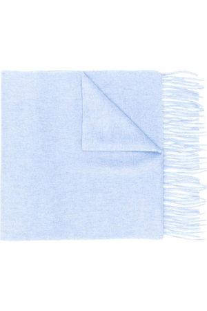 N.PEAL Fringe-hem scarf