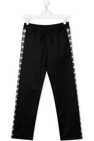 Dsquared2 TEEN logo tape track pants