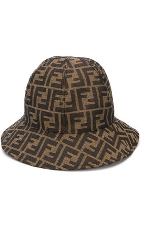 Fendi FF Pattern sun hat - Neutrals