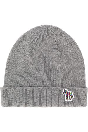 Paul Smith Logo beanie - Grey
