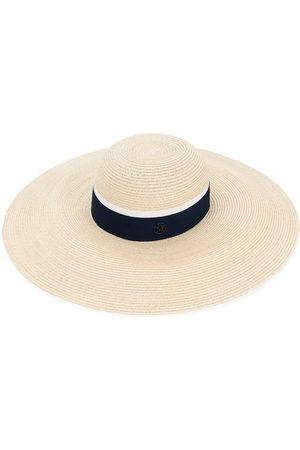 Le Mont St Michel Blanche hat - Neutrals