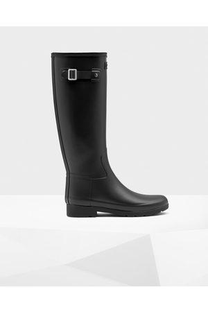 Hunter Women Thigh High Boots - Women's Refined Slim Fit Tall Rain Boots