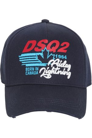 Dsquared2 Embroidery Cotton Gabardine Baseball Cap