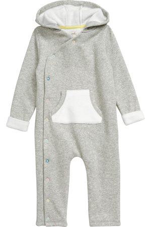 Peek Essentials Infant Girl's Emelie Hooded Wrap Romper