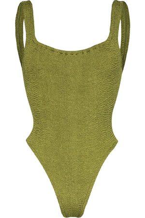 Hunza G Women Swimsuits - Classic Square Neck swimsuit
