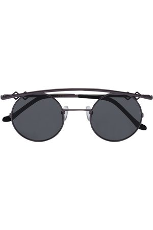 Karen Wazen Women Round - Retro curved round sunglasses