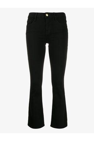 Frame Slim-fit cropped jeans