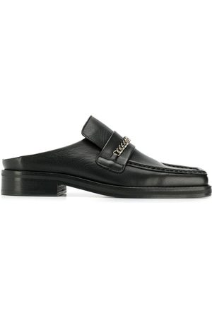 MARTINE ROSE Open back loafers