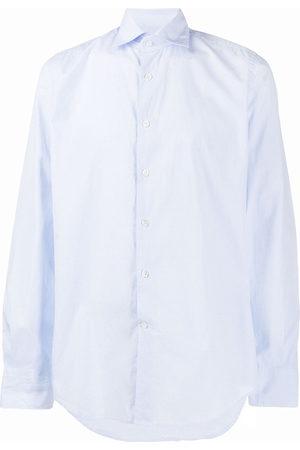 Glanshirt Men Shirts - French collar checked shirt