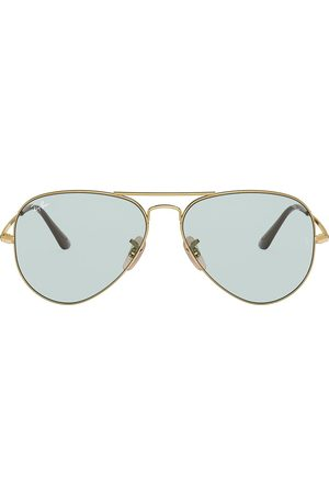 Ray-Ban Aviator Metal II tinted sunglasses