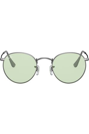 Ray-Ban Round - Round Metal tinted sunglasses - Metallic