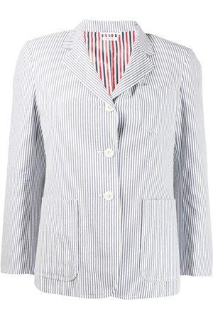 Thom Browne Seersucker single-breasted blazer