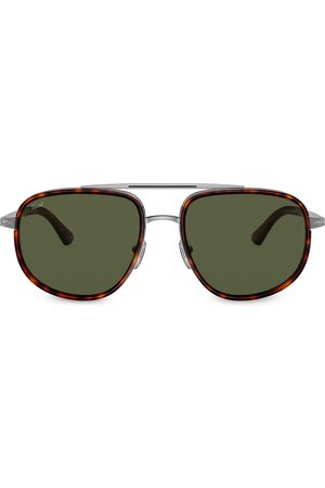 Persol Aviator shaped sunglasses