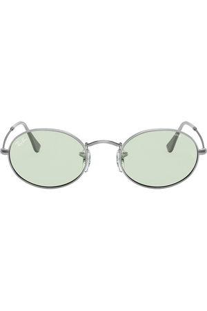 Ray-Ban Oval tinted sunglasses - Metallic