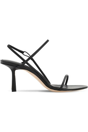 Studio Amelia 75mm Leather Sling Back Sandals