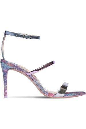 SOPHIA WEBSTER 85mm Rosalind Patent Leather Sandals