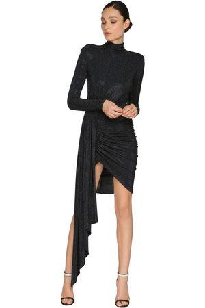 ALEXANDRE VAUTHIER Embellished Jersey Mini Dress