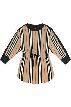 Burberry Aurora Icon Stripe cotton dress