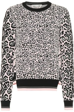 Stella McCartney Animal-jacquard sweatshirt
