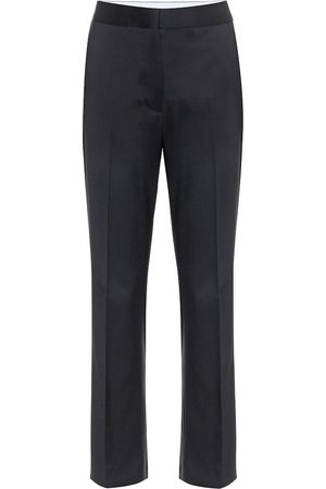 Stella McCartney Mid-rise straight wool pants