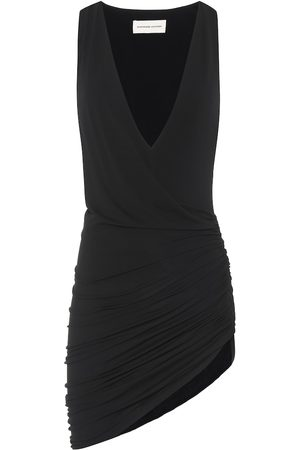 ALEXANDRE VAUTHIER Asymmetric stretch-jersey minidress